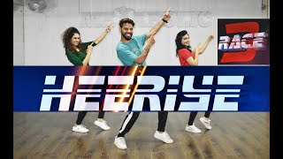 Heeriye - Race 3 Zumba | Heeriye Bollywood Workout Dance Choreography | Heeriye Bollywood Workout
