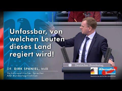 Unfassbar, von welchen Leuten dieses Land regiert wird! - Bundestagsrede Dirk Spaniel 06.11.2020