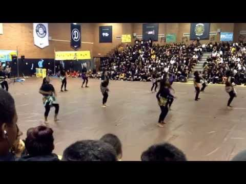 King Drew Magnet High School Multicultural Assembly 2014: Nigerian Dance
