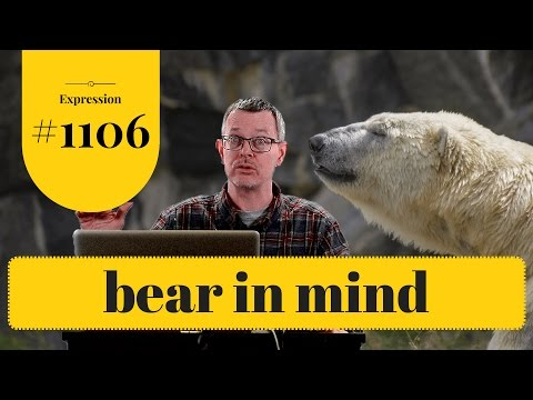 Learn English: Daily Easy English 1106: Bear in mind