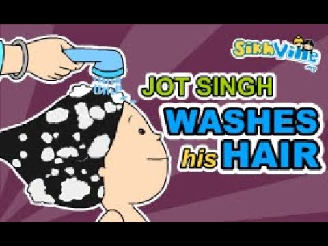 Jot Singh - Its A Hair Wash Day - Kids Learning
