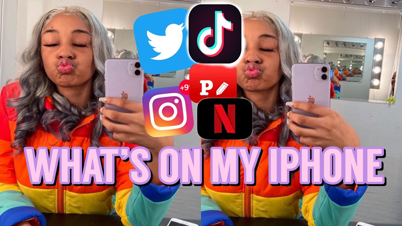 WHAT'S ON MY IPHONE 11 2020 |LET ME PUT YOU ON!