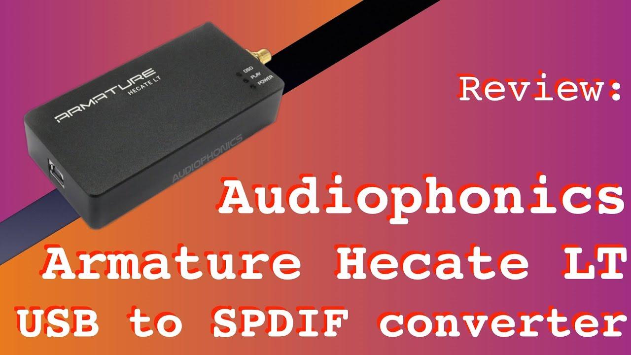 Audiophonics Armature Hecate LT USB to SPDIF converter