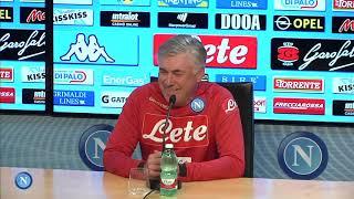 Genoa-Napoli, la conferenza stampa di Ancelotti - Ancelotti's press conference
