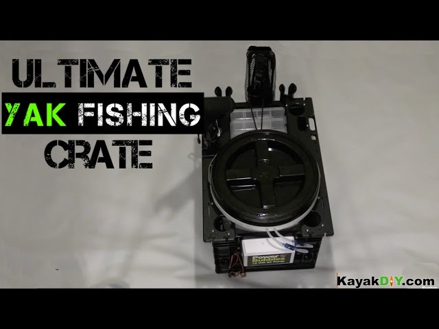 Custom SlideTrax Crate Build for Kayak Fishing & More
