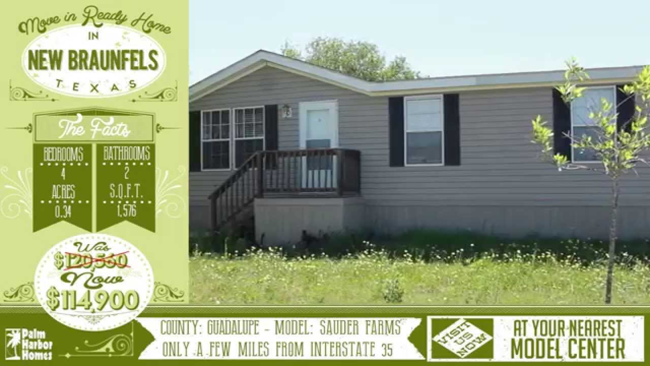 Move In Ready Home New Braunfels Tx Palm Harbor