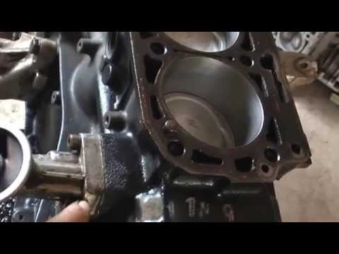 капитальный ремонт двигателя м 102 мерседес W 124 часть 2   Engine Overhaul Mercedes W 124 102 M Par