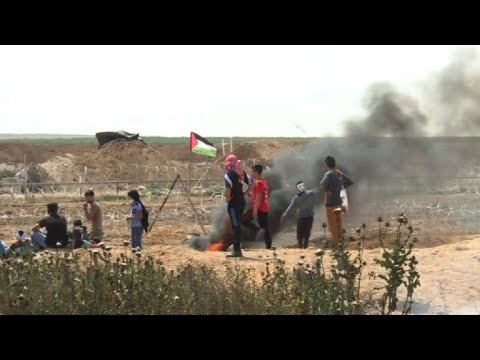 New Gaza protests on Israel border after deadly violence