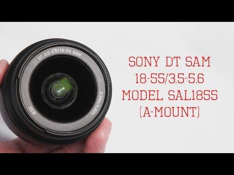 Sony DT 18-55mm F/3 5-5.6 SAM, Model SAL1855 [Cheap Kit For My FUJIFILM X-T10]