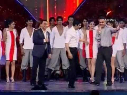 Sachin Tendulkar DANCINGwith SRK in Sahara INDIA Sports Awards