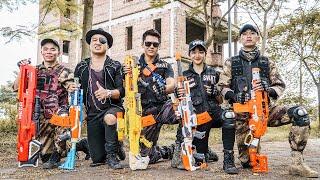 Ltt Game Nerf War  Warriors Seal X Nerf Guns Fight Crime Group Inhuman Bandits Rare Diamond