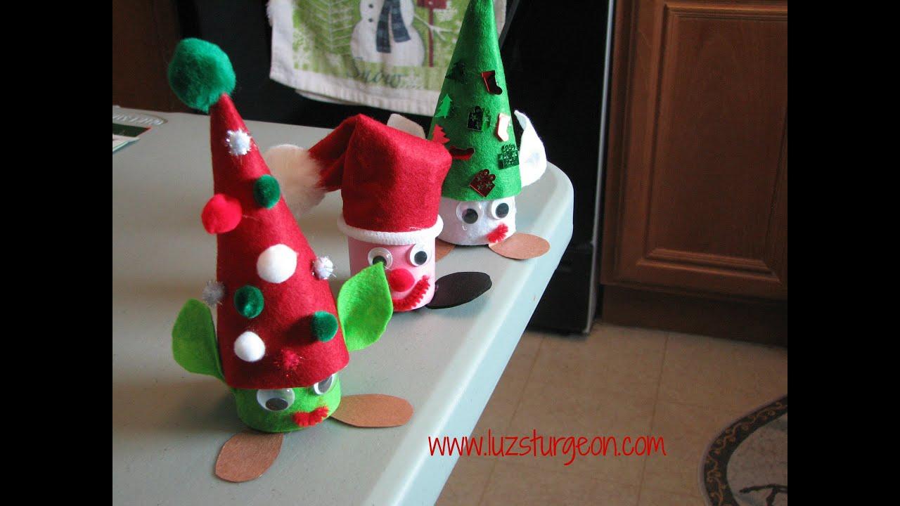 Manualidades Para Decorar En Navidad Como Hacer Duendes