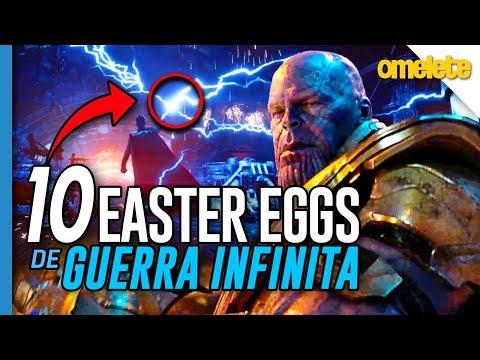 10 EASTER EGGS DE VINGADORES: GUERRA INFINITA | Omelista