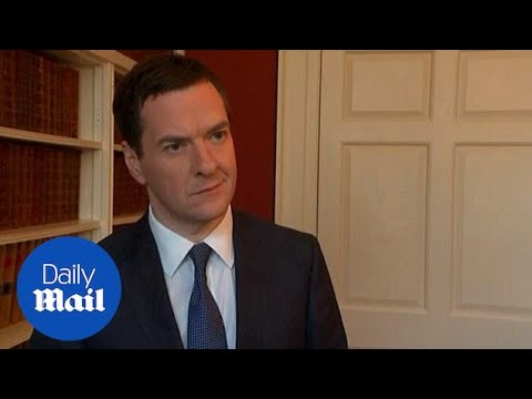 George Osborne: Stand-off over Greek debt biggest risk to economy - Daily Mail