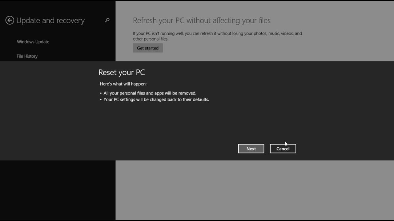 restart command in windows 8.1