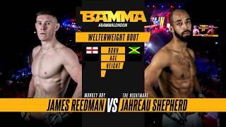 BAMMA 34: James Reedman vs Jahreau Shepherd