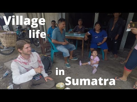 Indonesia - Nicest Village in Rural Sumatra | Local Family Hospitality