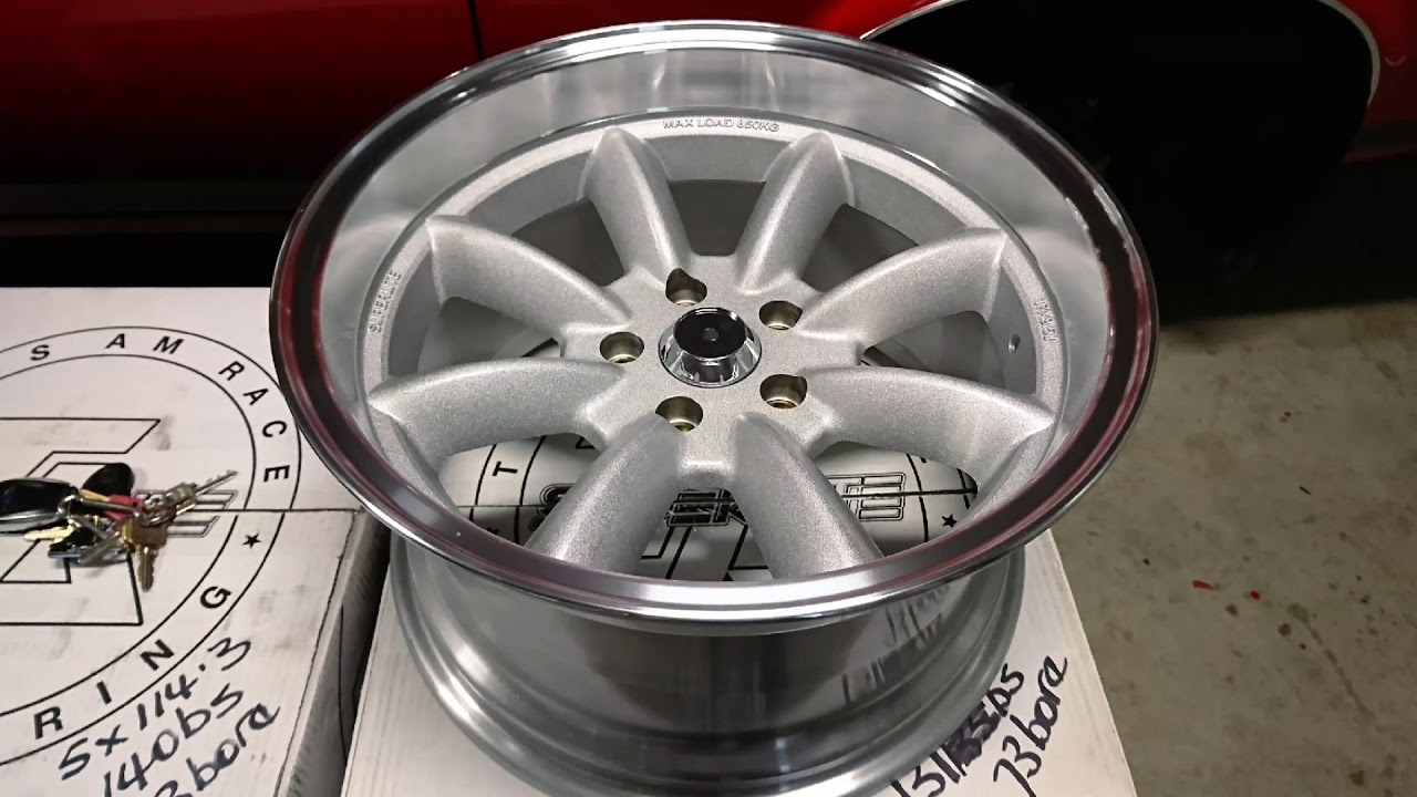 Transam Race Engineering 17x9.5 Superlite Wheels
