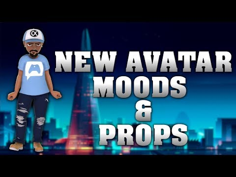New Xbox One Avatar Moods and Props