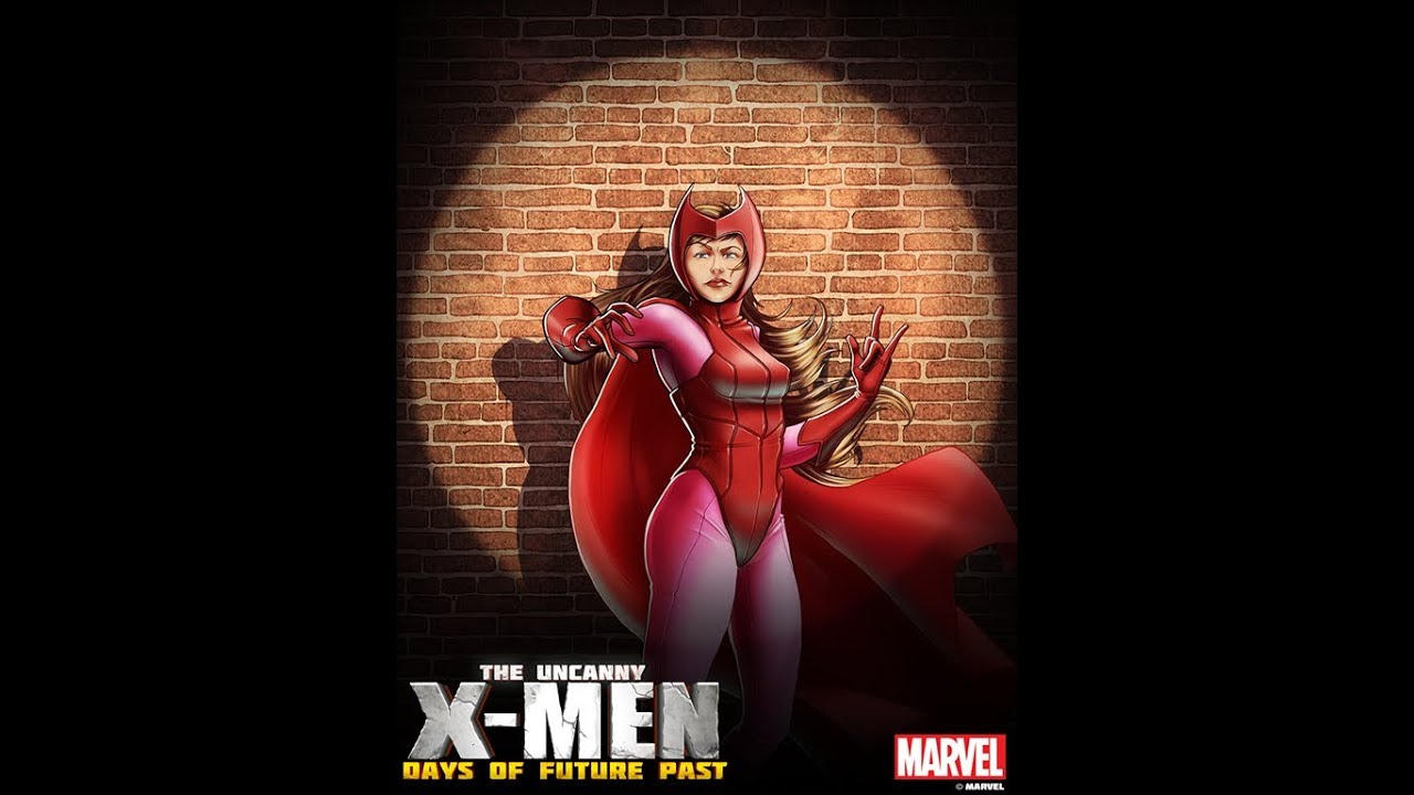 Uncanny X-Men: Days of Future Past Scarlet Witch Gameplay ...