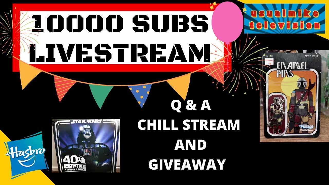 10000K Livestream feat. Q & A plus Givaway