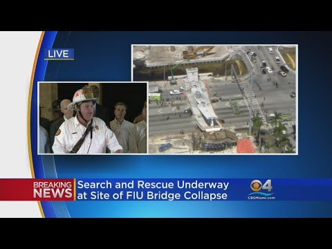 WEB EXTRA: 'Fire Rescue Continues To Operate In Search and Rescue Mode': MDFR Chief Dave Downey