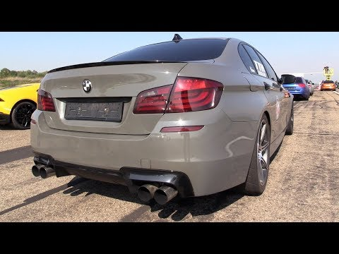 800hp bmw m5 f10 tth turbolader with meisterschaft exhaust. Black Bedroom Furniture Sets. Home Design Ideas