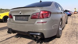 800HP BMW M5 F10 TTH TURBOLADER with Meisterschaft Exhaust!