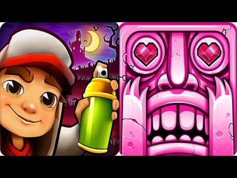 Temple Run 2 VS Subway Surfers iPad Gameplay for Children HD #87