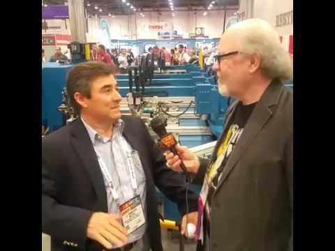 Scott Fresener inteviews Roberto Matheu at SGIA 2016 in Las Vegas