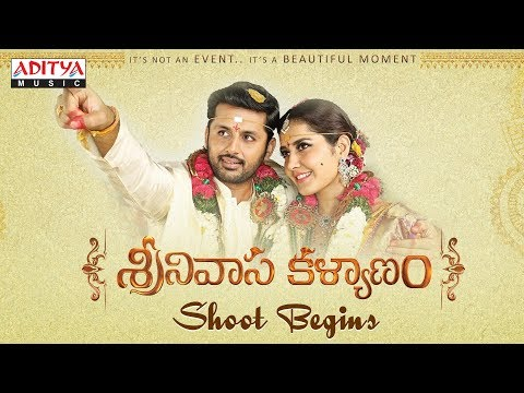 Srinivasa Kalyanam Shoot Begins | Srinivasa Kalyanam Movie | Nithiin, Raashi Khanna | Mickey J Meyer