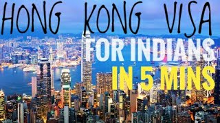 HONG KONG Tourist VISA In 5 MINS ! Documents ! Process ! Cost ! Travel Agents