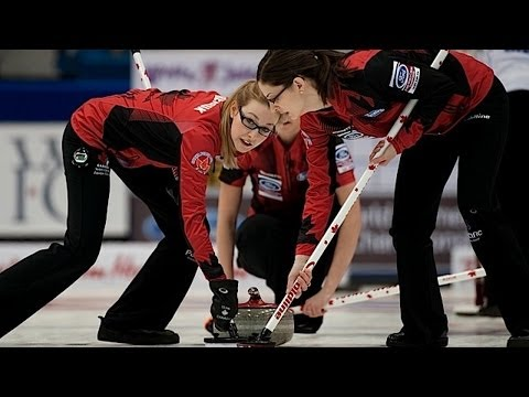 CURLING: CAN-SUI World Women's Chp 2014 - Final