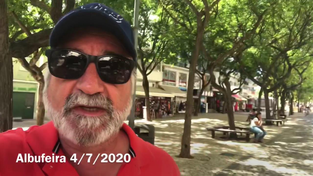 Albufeira é o espelho do caos em Portugal