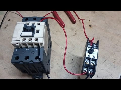 Contactor Wiring To Timer - Wiring Diagrams IMG on