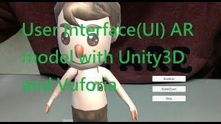 Augmented-Reality Tutorial für Anfänger 5: User Interface(UI) AR-Modell mit Unity3D und Vuforia
