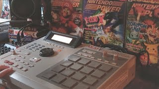 Making a Grimy Hip Hop Beat on the MPC 2000XL from Scratch
