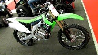 2014 Kawasaki KX 450F Walkaround - 2014 Montreal Motorcycle Show