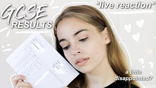 My GCSE Results 2018! *Live Reaction*