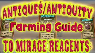 Wizard101: Antiquity Farming Guide | Mirage Reagents: Antique Coins, Chest, Egg, Statue, Fulgurite
