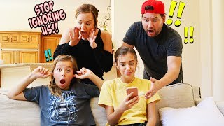 WE IGNORED OUR PARENTS FOR 24 HOURS!!