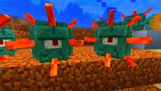 The Guardian Mob - NEW Minecraft Mob - Minecraft Snapshot 14w25a Overview
