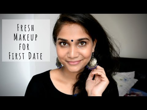 Fresh Makeup for First Meeting/Date with To Be Husband -Chatty Everyday Natural Makeup for beginners - 동영상