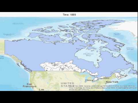 Canadian Territorial Expansion: 1779-1999