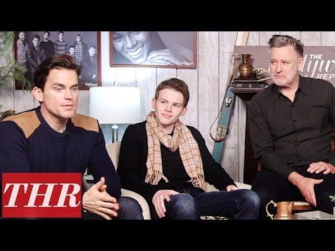 Matt Bomer & Josh Wiggins on Playing Estranged Father & Son in 'Walking Out' | Sundance 2017