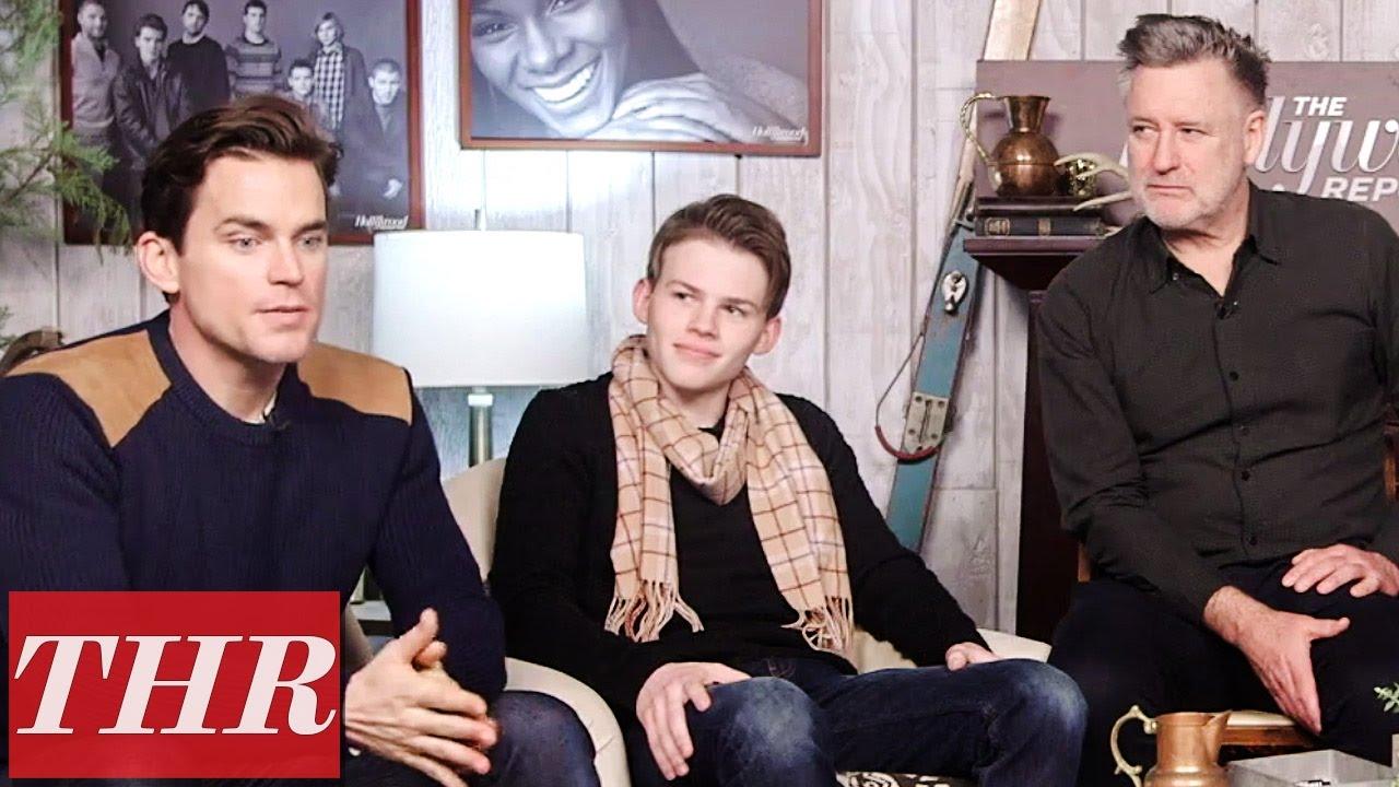 Matt Bomer Josh Wiggins On Playing Estranged Father Son In