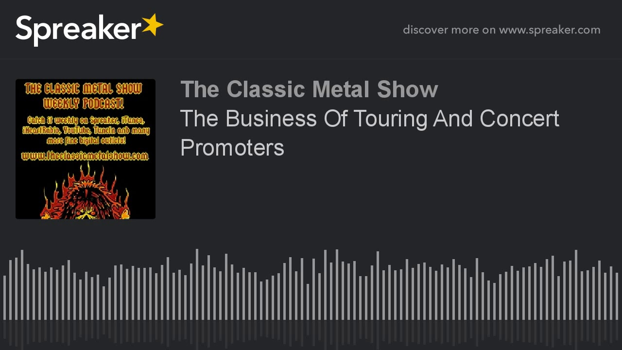 The Business Of Touring And Concert Promoters