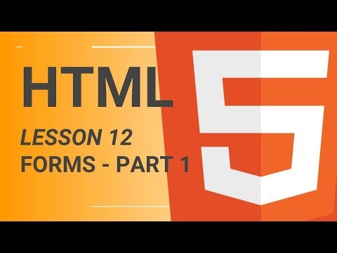 HTML Tutorial Series - Lesson 12.1 - Forms - Text, Email and Textarea thumbnail