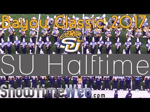 Southern University Human Jukebox Marching Band Halftime Show - SU 2017 Bayou Classic Game