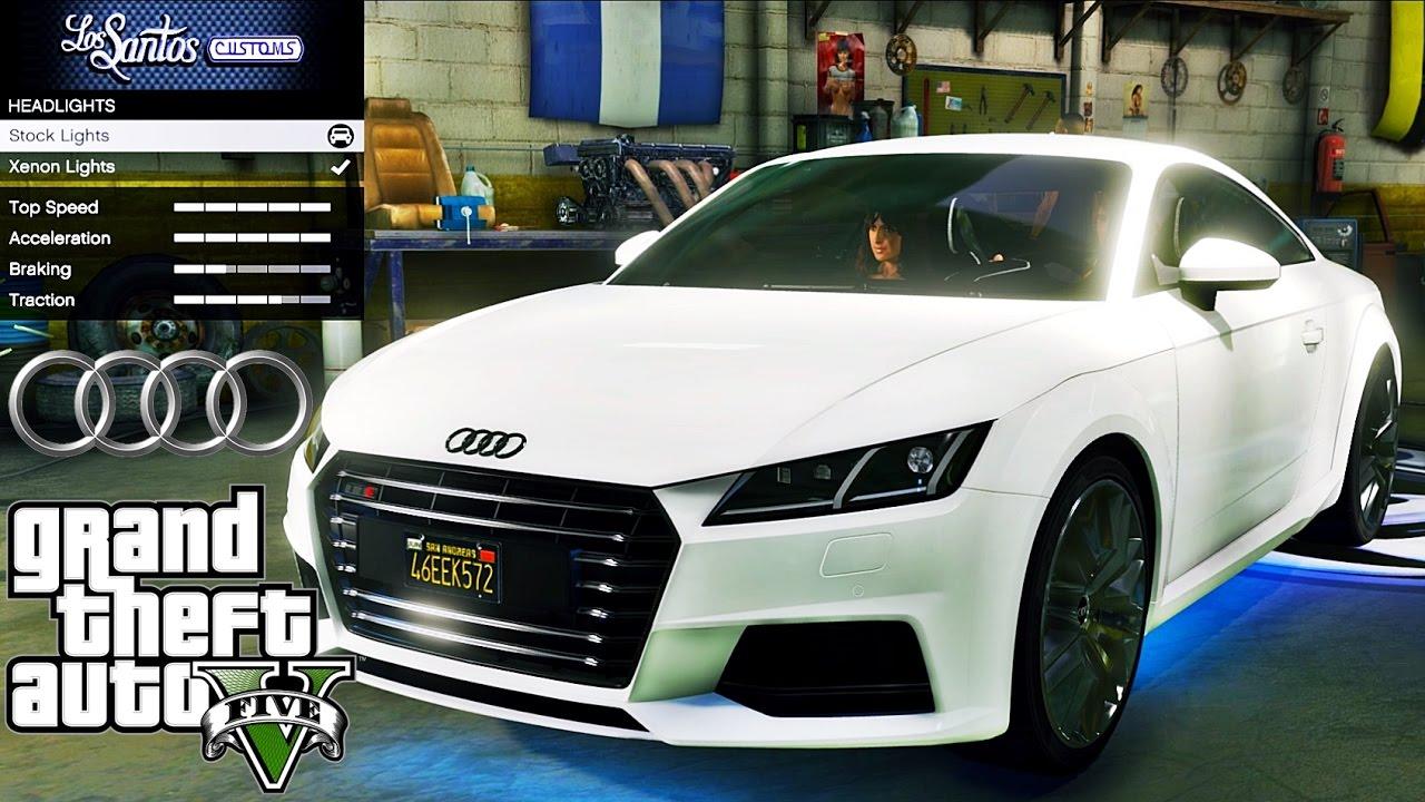 Audi in gta 5 name